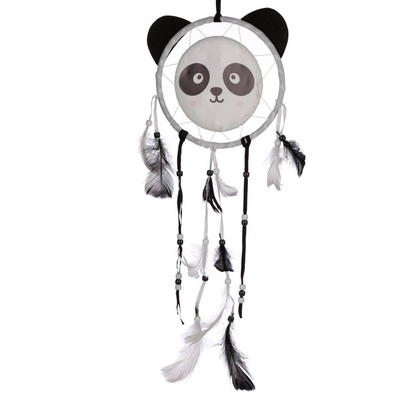 Cute Fun Panda Design Dreamcatcher