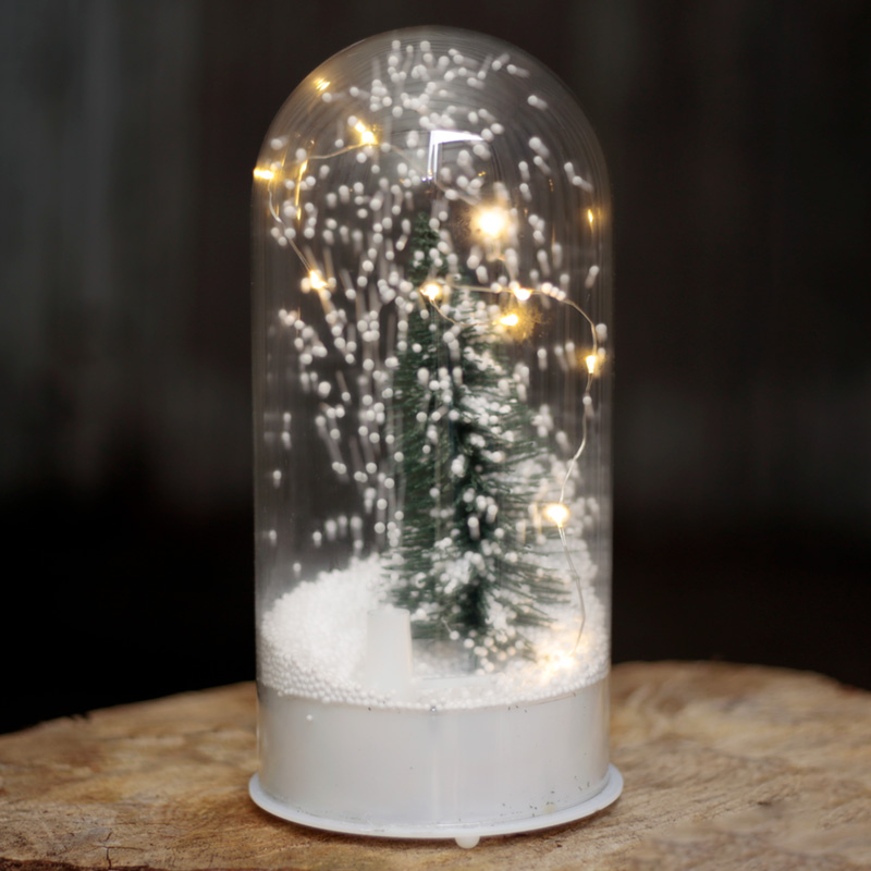 Musical LED Christmas Snowstorm - Domed